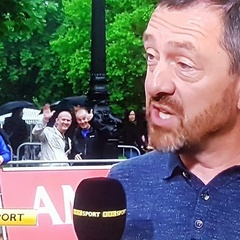 Me being a dick on TV.  Sorry Chris Boardman!!
